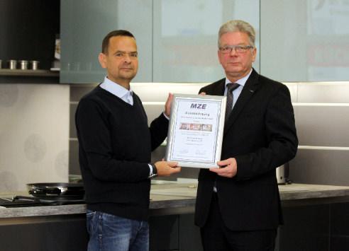 Auszeichnung Möbel Kallert MZE
